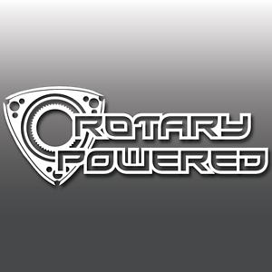 Rotary-Powered-Funny-Vinyl-Decal-Sticker-Window-Bumper-JDM-DUB-Euro-Drift