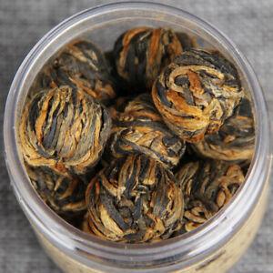 60g-Handmade-Organic-Dian-Hong-Blooming-Tea-Ball-Yunnan-Black-Tea-Dragon-Pearl