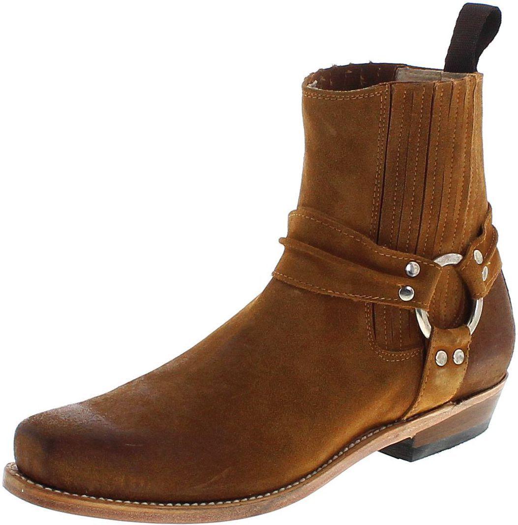 Fashion botas b2650bf whisky señoras y señores botas de motorista lederbotasette marrón