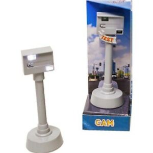 *was 3.99 Speed Cam Luxury With Light & Sound - 11cm Kids Globe Traffic Camera