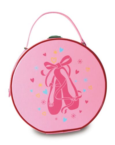 Girls ROCH VALLEY VBALL Bag Pink Ballet Shoes Dance Hard Vanity Case  NEW