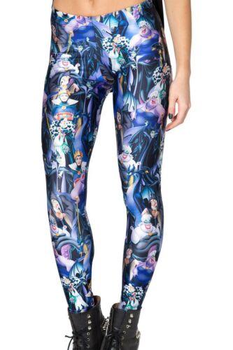 Ladies Galaxy, Halloween, Milk, Black Women/'s Printed Leggings Stretchy