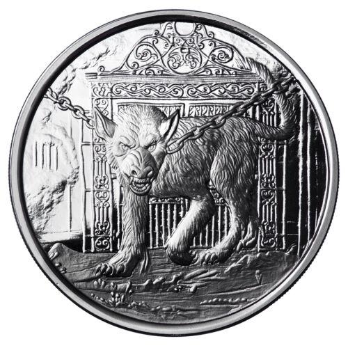 1 OZ GARM PROOF .999 Silver w// COA NORDIC CREATURES #4 VIKING VALKYRIE