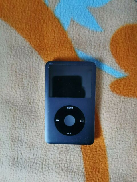 Apple iPod Classic 7th Generation Black (120GB) Good Condition! Slight Issue!