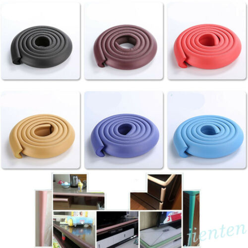 2M Baby Safety Table Edge Corner Cushion Guard Strip Softener Bumper Protector