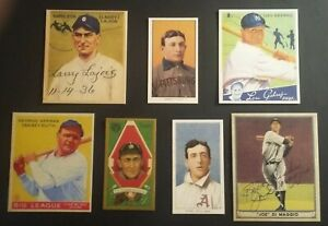 T206-Honus-Wagner-1933-Babe-Ruth-T205-Ty-Cobb-T206-Ed-Plank-1941-Ted-Williams