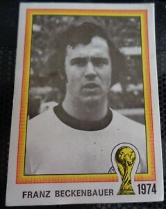 1978 soccer PANINI WORLD CUP ARGENTINA 78 # 31FRANZ BECKENBAUER rare ROOKIE