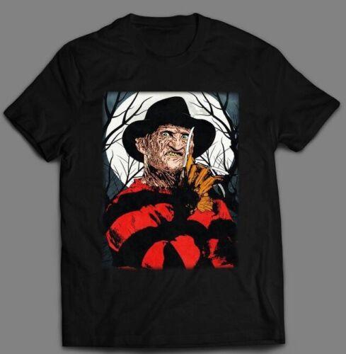 FREDDY KRUEGER NIGHTMARE ON ELM STREET QUALITY *CUSTOM ART* Shirt *MANY OPTIONS*