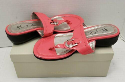 Marc Fisher Women Sandals Slides Slip On MFAROCK P