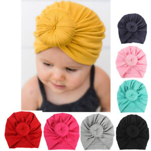 Baby-Turban-Toddler-Kids-Boy-Girl-Cotton-Blends-India-Hat-Lovely-Soft-Hat-Nice