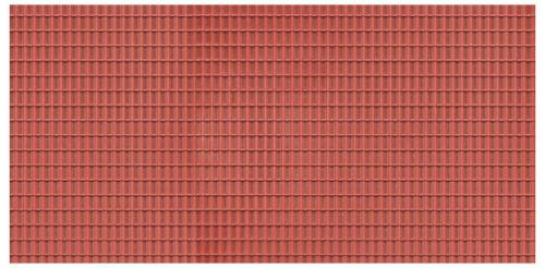 Auhagen 52425 h0 1 DECOR PLAQUE toit brun rouge neuf neuf dans sa boîte//