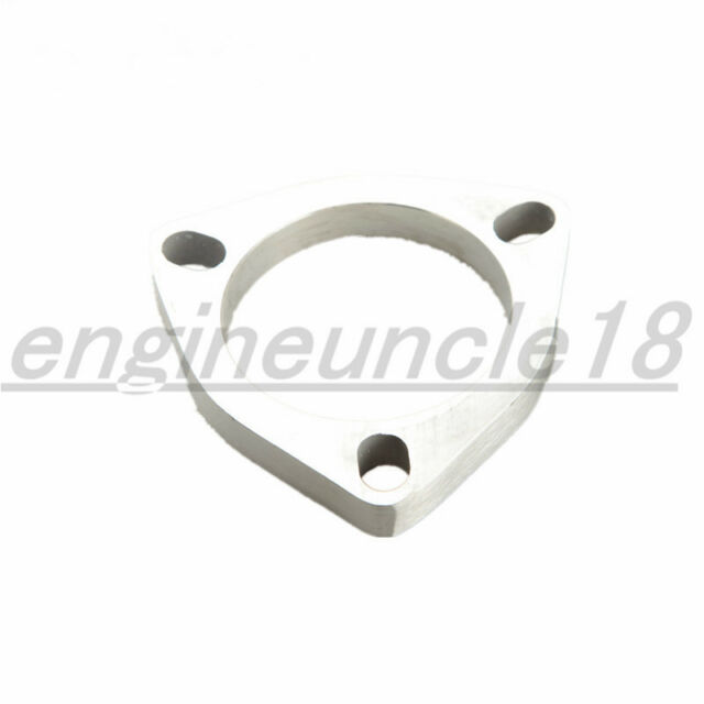 """4.0/"""" 2 Bolt SS304 Slotted Flange Exhaust Downpipe Pipe Catback Header 1//2/"""" Thick"""