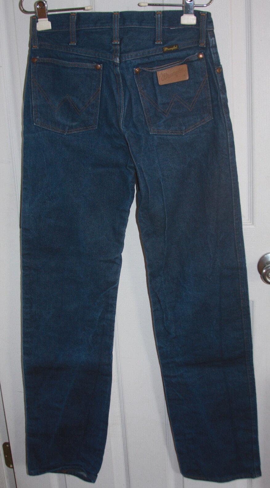 Wrangler Western bluee Jeans 29x34 Style 13MWZ