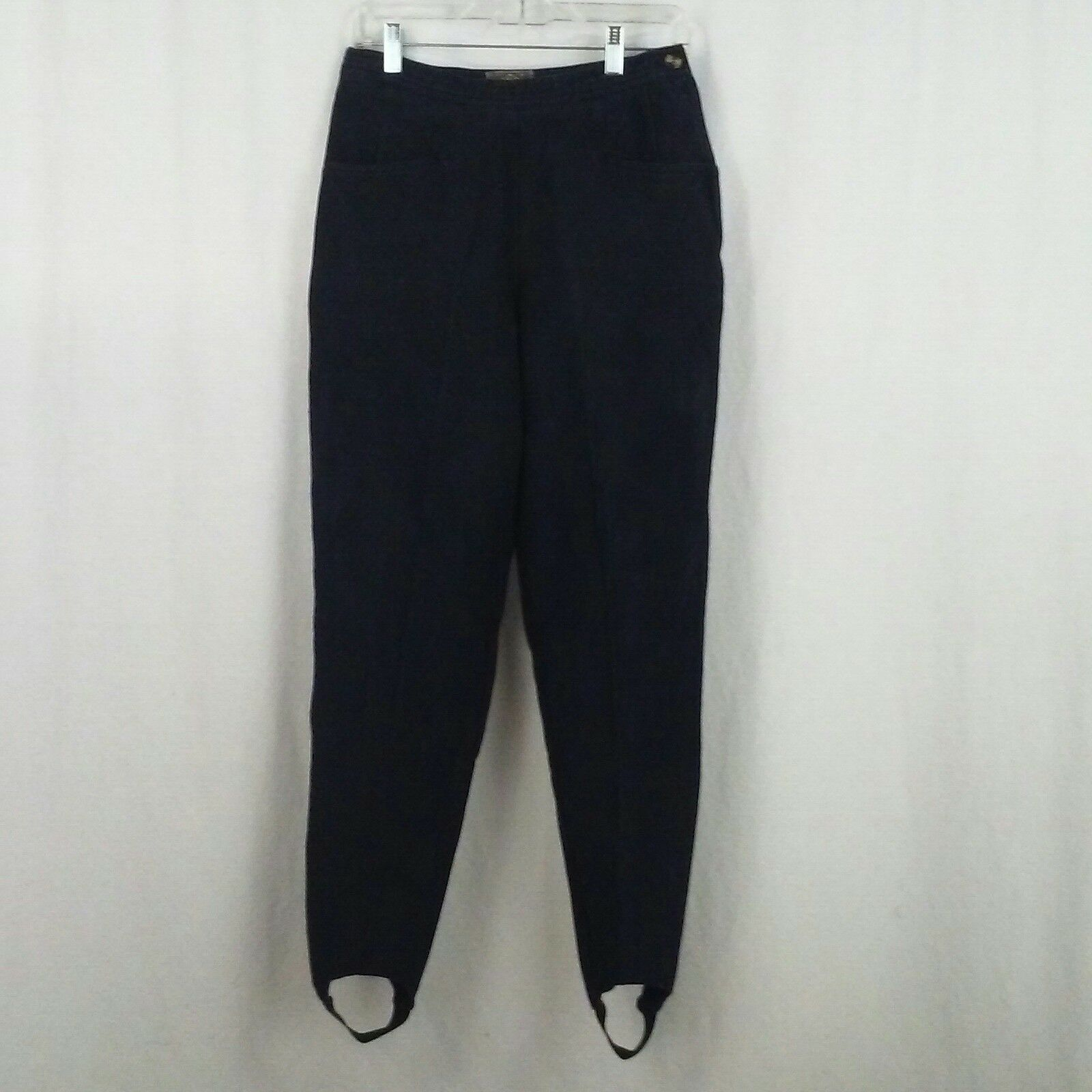 EXP Jeans womens leggings Size 11 12 Stirrup legs Skinny Stretch Side zip