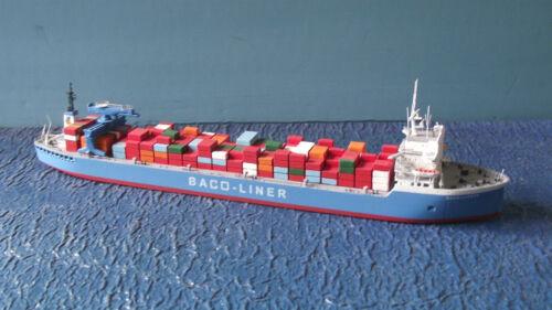 """Frachter /"""" BACO-LINER 3  /"""" C 33 CARAT 1:1250 D"""