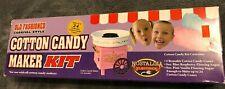 Cotton Candy Maker Kit Includes 2 Blue Raspberry Sugar 4 Reusable Cones