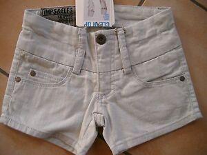 268-Imps-amp-Elfs-Girls-Hose-5-Pocket-Jeans-Hot-Pants-Slim-Fit-bleached-gr-128