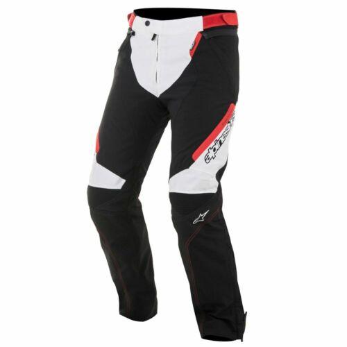 Alpinestars Raider Drystar Pants talla XL pantalones Moto Blanco negro rojo