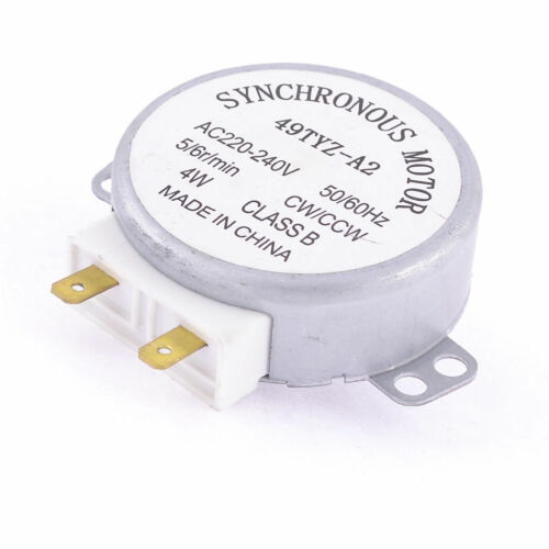 NEW Microwave Oven 4W 5//6r min CW//CCW AC220-240V Synchronous Motor 49TYZ-A2 EY4J