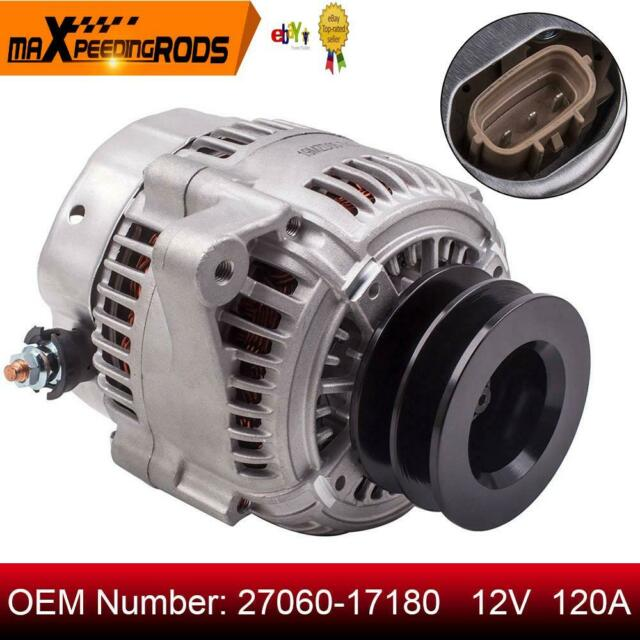 120A Alternator fit Toyota Landcruiser HZJ80 HZJ105 HZJ75 78 79 1HZ 4.2L Diesel