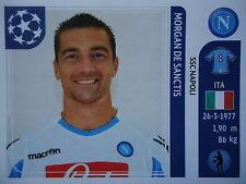 Panini 57 Morgan de Sanctis SSC Napoli UEFA CL 2011/12