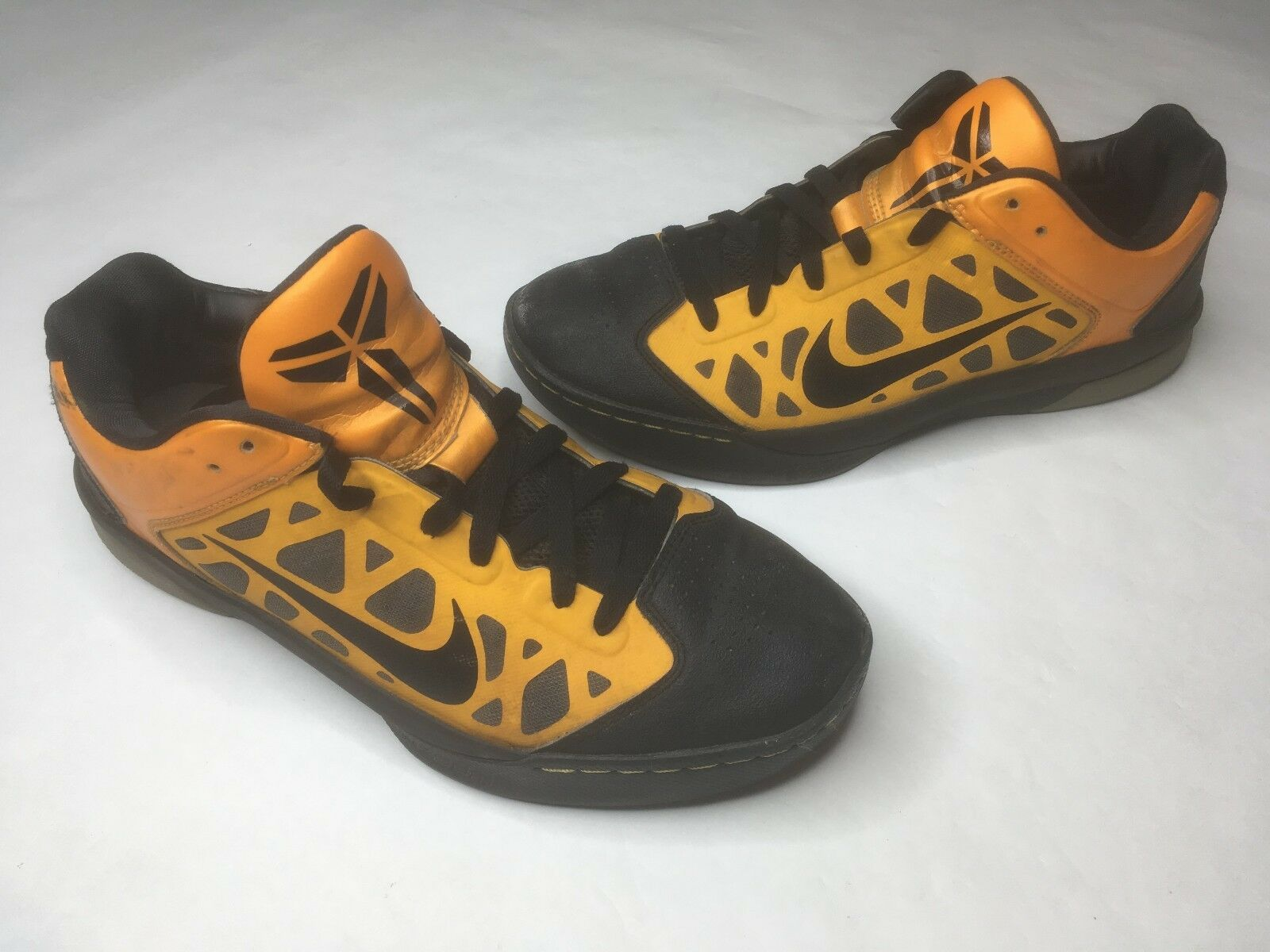 Nike Dream Season IV University Sneaker Shoes Black Gold, 524870-700, 10, RARE! Wild casual shoes