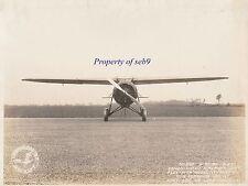 1930 Sec of War's Consolidated FLEETSTER Y1C-11 ~ RARE ORIGINAL FACTORY PHOTO!!!