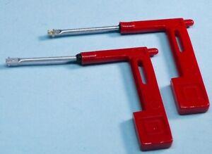 Telefunken-A-23-2-A-25-2-PE-192-223-Saphirnadeln-78-RpM-Stereo-2-Stueck