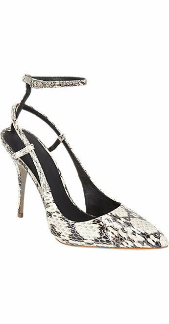 GORGEOUS, SOLD OUT, NEW  695 SNAKESKIN 'JODIE' PUMPS BY ALEXANDER WANG (NWB)