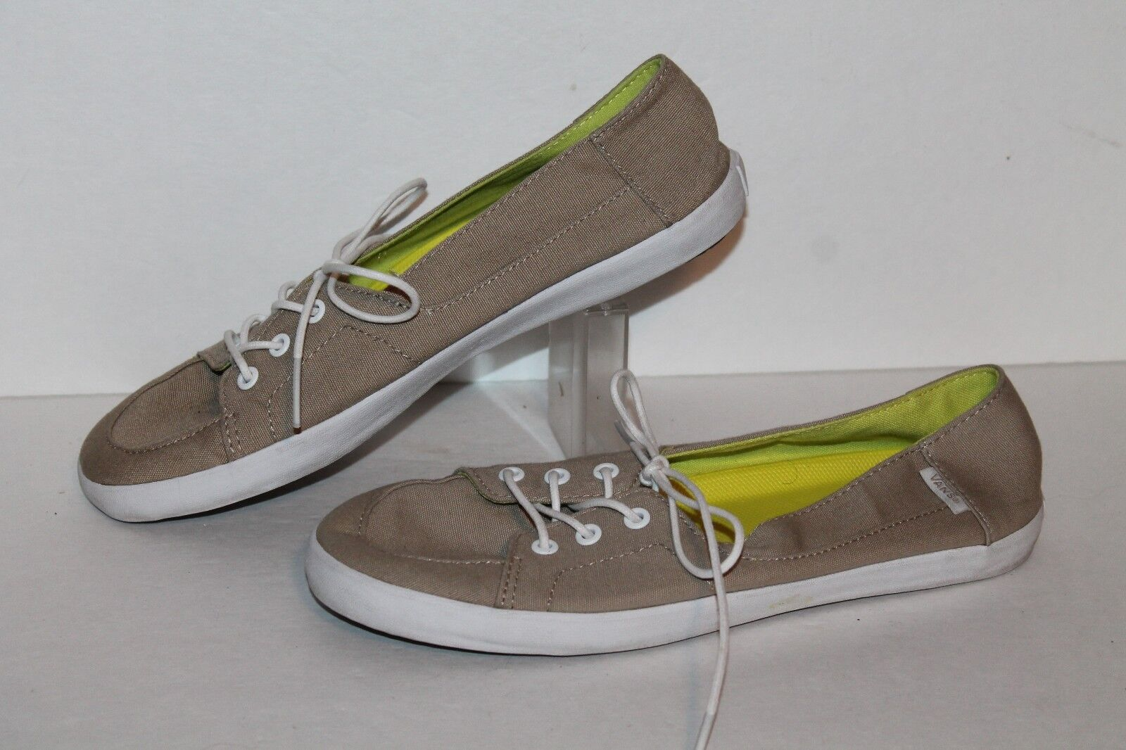 Vans Casual Sneakers, #TB9C, Tan/White, 8  Womens US Size 8 Tan/White, 2655c9