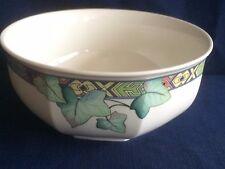 "Villeroy & Boch Pasadena octagonal 7 3/8"" fruit/salad bowl (some scratches )"
