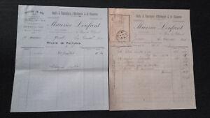 Set Di Fatture Orologio Gioielli & Orologi - 1899 Con