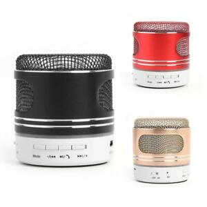 Microphone-Style-Bluetooth-Speaker-Mini-Subwoofer-TF-USB-AUX-Music-Player