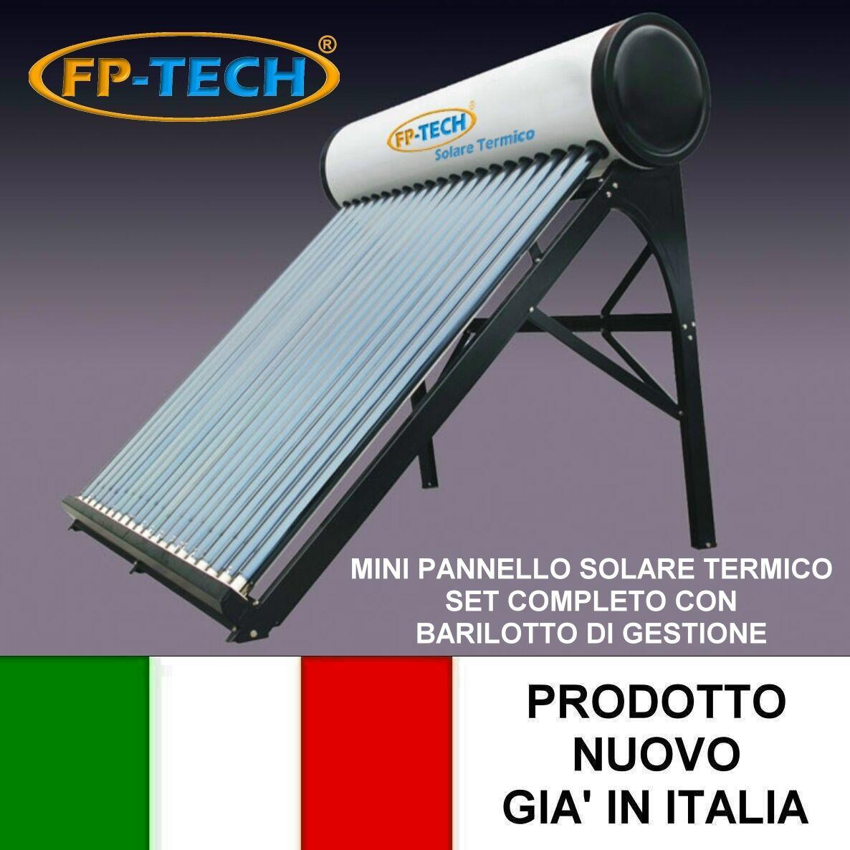 Pannelli Solari Termici Da Balcone fp-tech fp-r01-18-pro pannello solare termico acqua calda