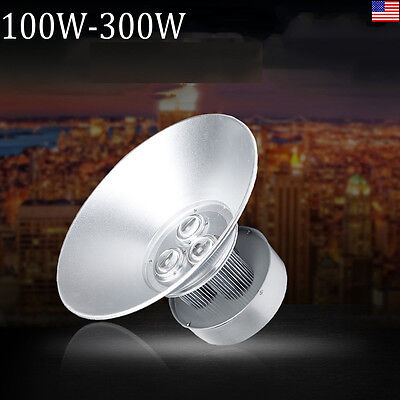 HQ Factory Price 200W 300W LED High Bay Light Commercial Lamp Lighting Fixture
