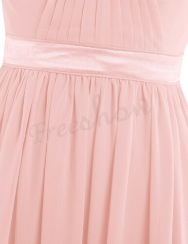 Women/'s Chiffon Long Evening Bridesmaid Formal Party Cocktail Prom Gown Dresses