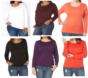 Evans-de-Algodon-de-Cuello-Redondo-Blanco-Rojo-Rosa-Negro-camiseta-Prenda-para-el-torso-Camiseta