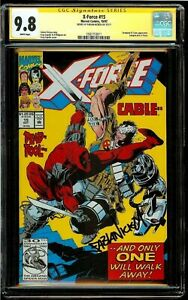 "X-FORCE #15 4TH APPEARANCE OF DEADPOOL /""MOVIE/"" KEY ISSUE NEAR MINT OR BETTER!"