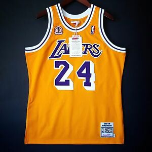 d445a0c40 100% Authentic Kobe Bryant Mitchell   Ness 07 08 Lakers Jersey Size ...