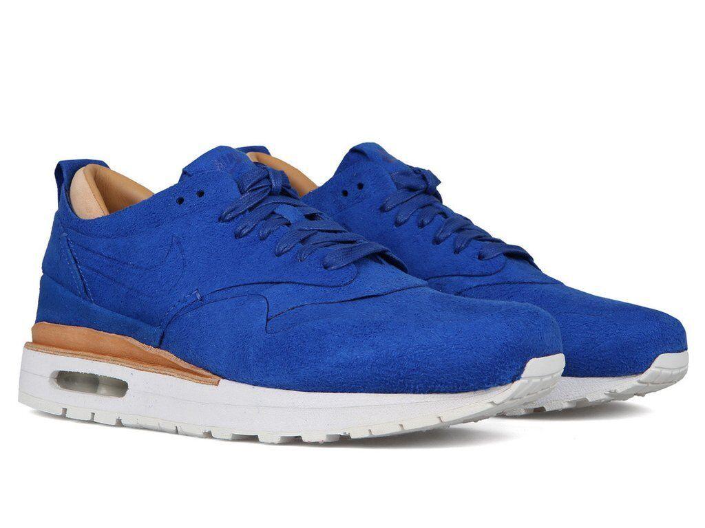Nike air max 1 blu reale partita royal vertice uomini bianchi 847671 441