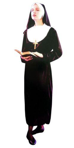 Ladies Men Nun Religious Sister Holy Hen Night Do Fancy Dress Party Costume