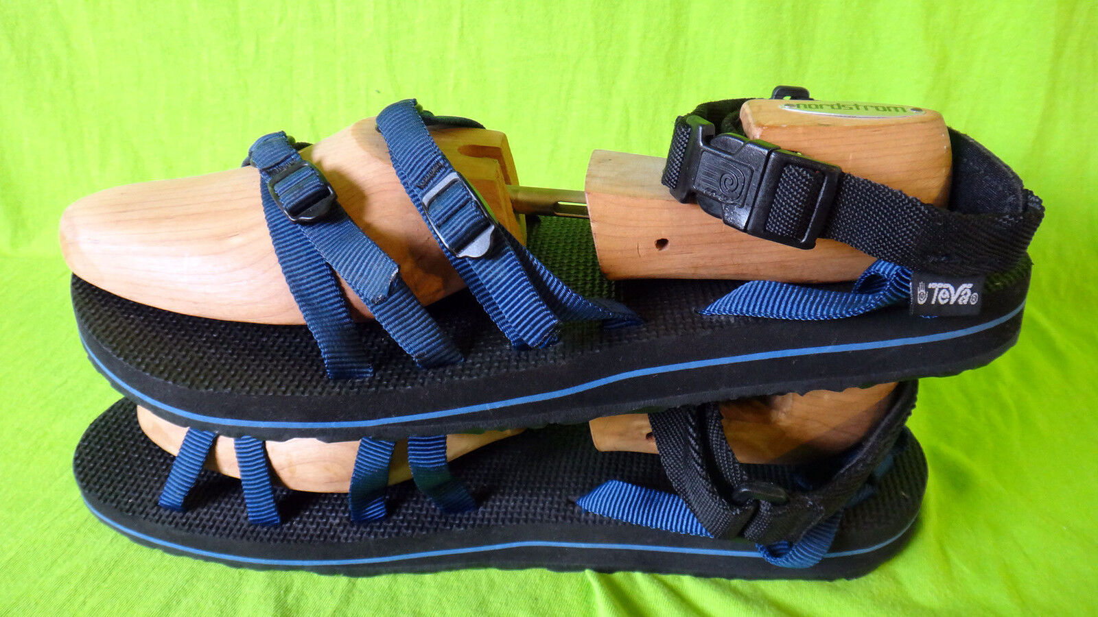 TEVA strap toe sandal sandal sandal US15 UK14 EU49 Jp325 blueE hiking water thong slipper shoe 4f12a2