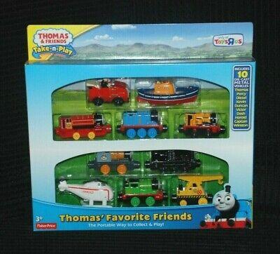 Thomas the tank engine Take N Play Gift Set Of 10 Favourite Friends BNIB