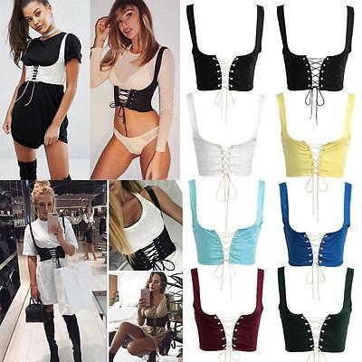 Fashion Women Lady Elastic Extra Wide Corset Tie High Waist Abdominal Belt P6A3