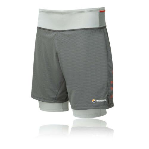 Montane Homme Trail 2SK Short Pantalon Pantalon Gris Sports Outdoors