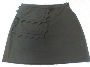 5250d1d92e Image is loading Victoria-Beckham-Target-Large-Black-Mini-Skirt-With-