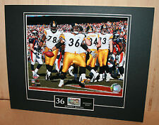 STEELERS Jerome Bettis US Postal Service Print Super Bowl XL Champ HOF '15