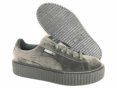 NEW PUMA FENTY RIHANNA CREEPERS VELVET GLACIER GRAY WOMEN'S SHOES ALL SIZES | eBay