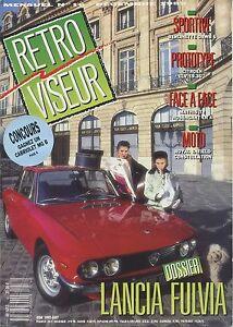 RETROVISEUR-n-16-12-1989-LANCIA-FULVIA-BERLINETTE-DAWB-6-CITROEN-ELV-1936