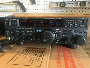 Ham Radio Yaesu Ft 950 Hf 50 Mhz Transceiver Ebay